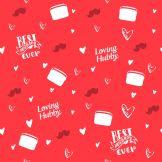 happy valentine day husband gift wrap