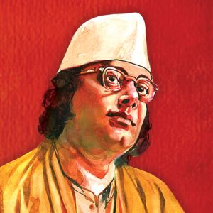 Kazi Nazrul Islam pictures only