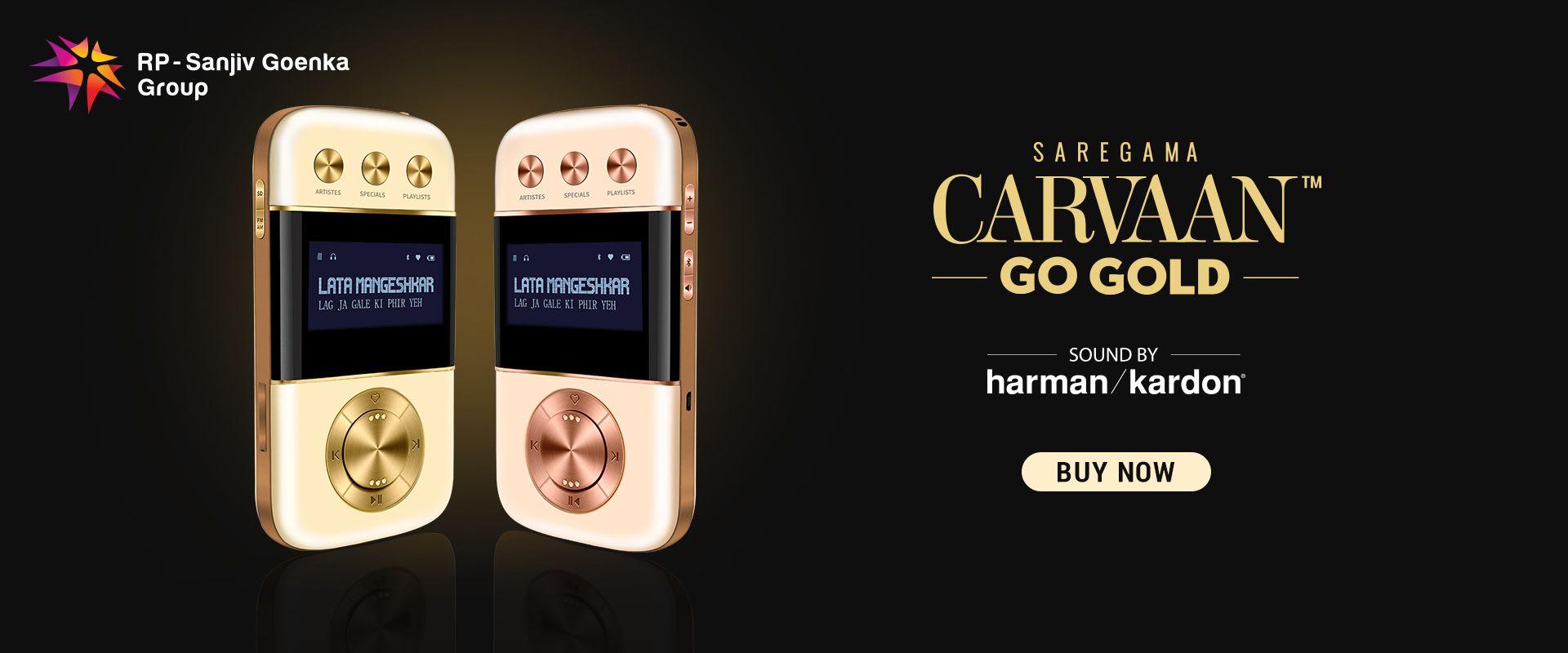 Saregama Carvaan 2.0 Gold