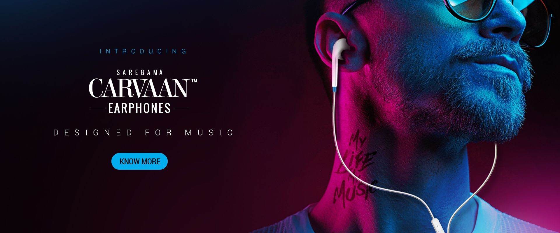 Saregama Carvaan Earphone