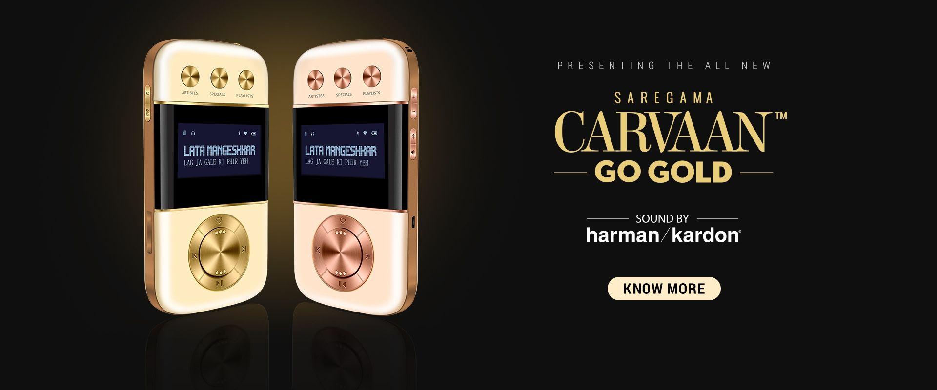 Saregama Carvaan Go Gold