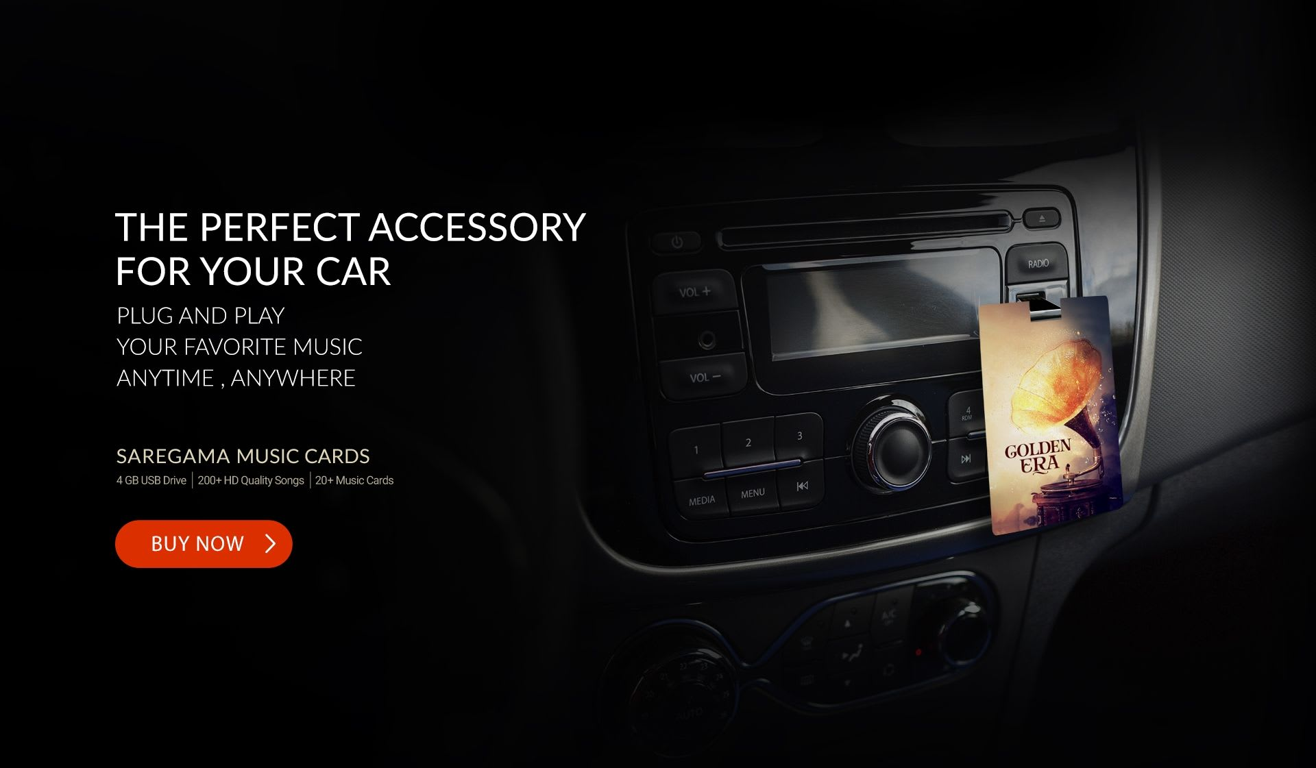 Music Card - Perfect Accessory for your Car