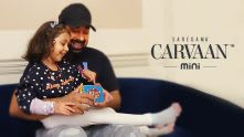Rannvijay Singha is having a �we� time with his cute daughter.