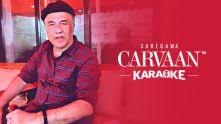 The inimitable Anu Malik singing on the Carvaan Karaoke