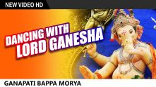 Dancing In The Streets With Lord Ganesh | Ganapati Bappa Moraya | Ganeshotsav Special Video Song