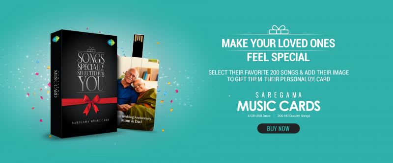Gift Saregama Music Cards   Evergreen Hindi Songs   Ghazals