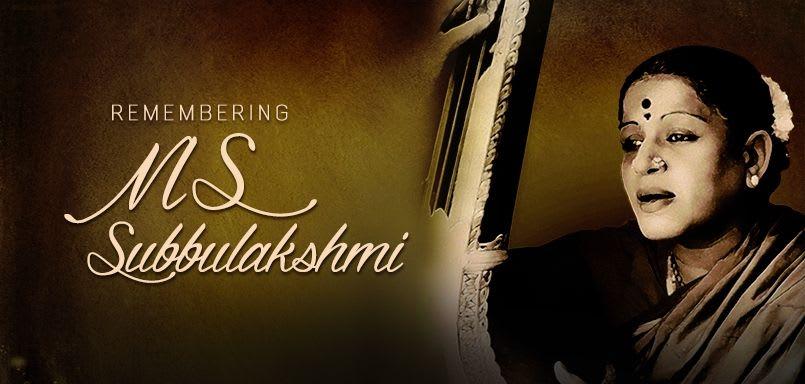 M. S. Subbulakshmi Special