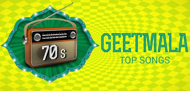 Geetmala Top songs 70s (1970)