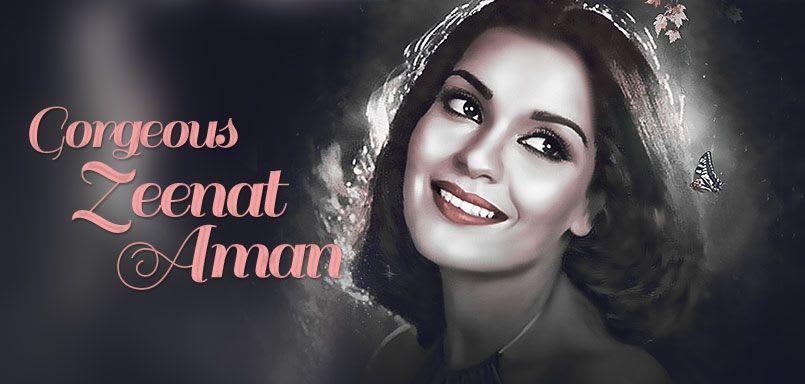 Gorgeous Zeenat Aman