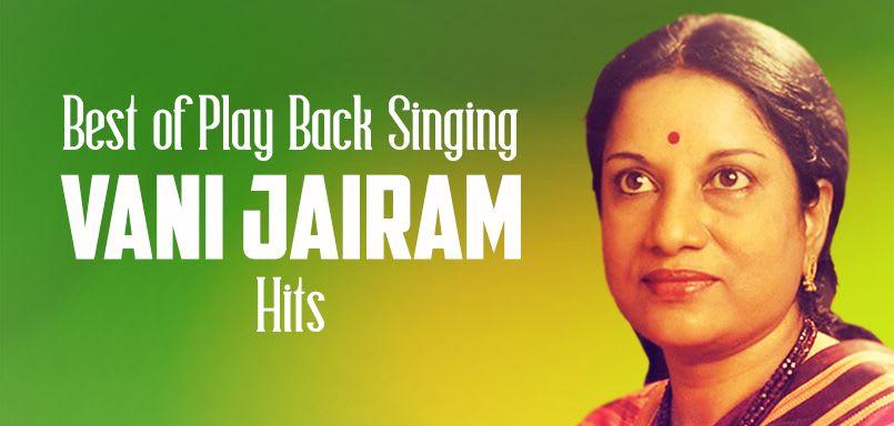 Best of Play Back Singing - Vani Jairam Hits
