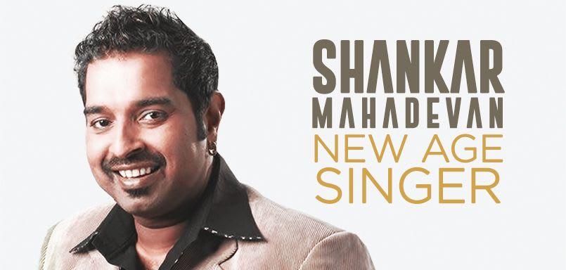 New Age Singer - Shankar Mahadevan