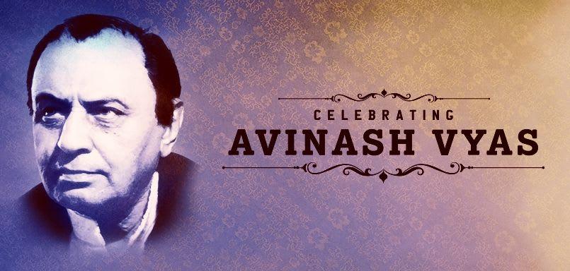 Celebrating Avinash Vyas