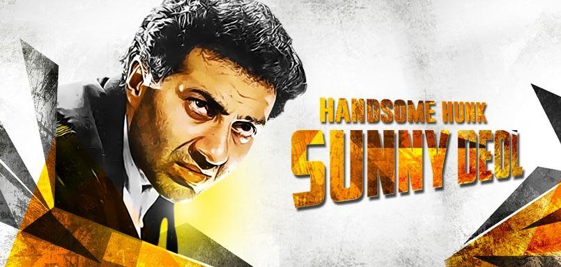 Handsome Hunk Sunny Deol