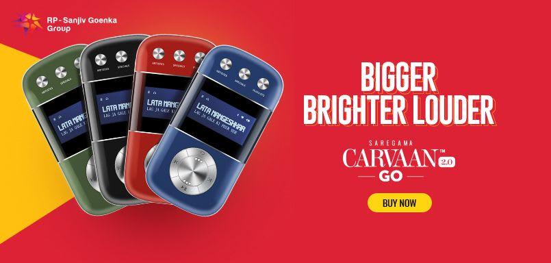 Saregama Carvaan Go 2.0