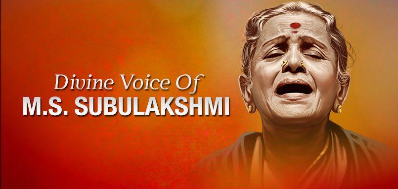 Divine voice of M.S. Subulakshmi