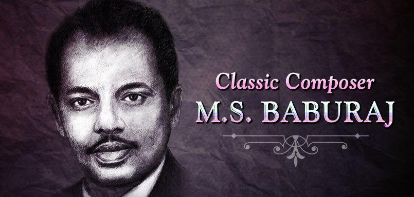 Classic Composer - M.S. Baburaj