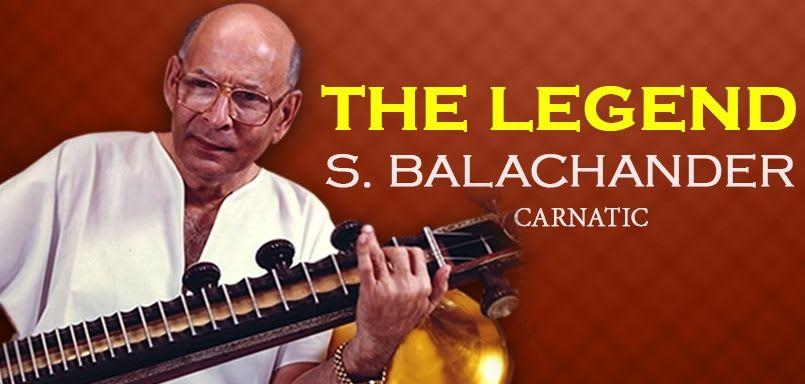The Legend - S. Balachander