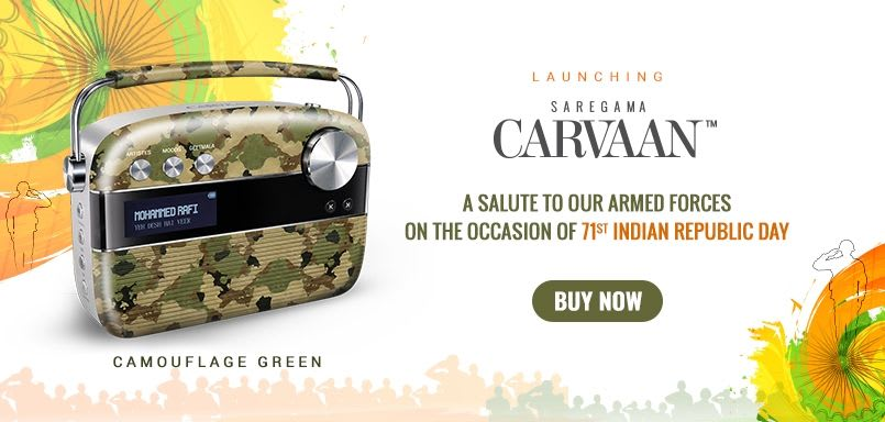 Carvaan Camouflage Green