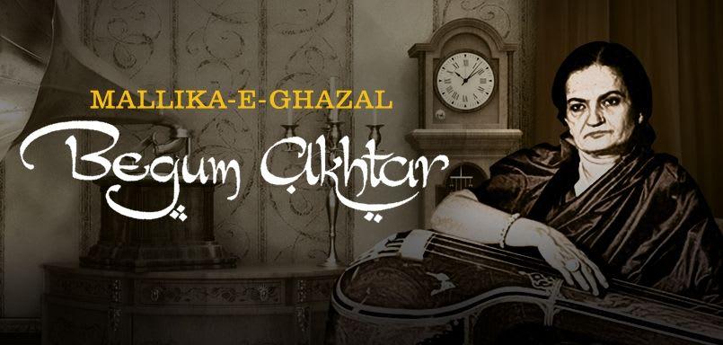 Mallika-E-Ghazal Begum Akhtar