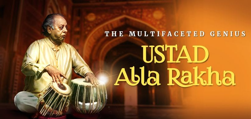 The Multifaceted Genius - Ustad Alla Rakha