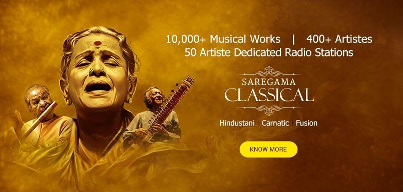 Saregama Classical app