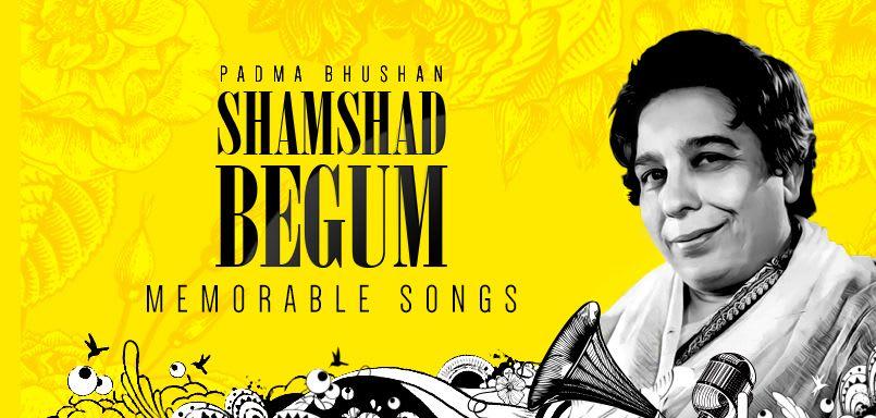 Padma Bhushan Shamshad Begum