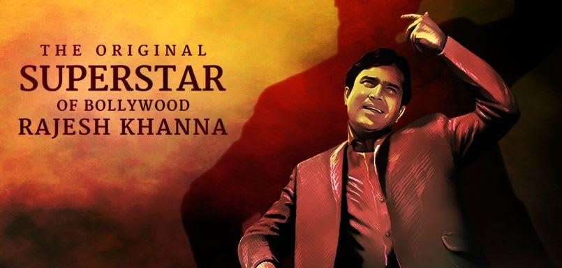 The Original Superstar Of Bollywood Rajesh Khanna