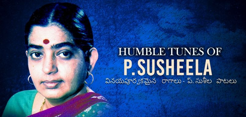 Humble Tunes of P. Susheela-Telugu