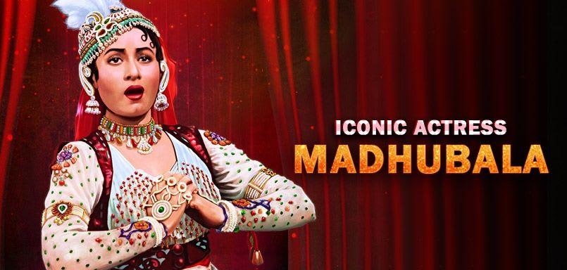 Iconic Actress - Madhubala