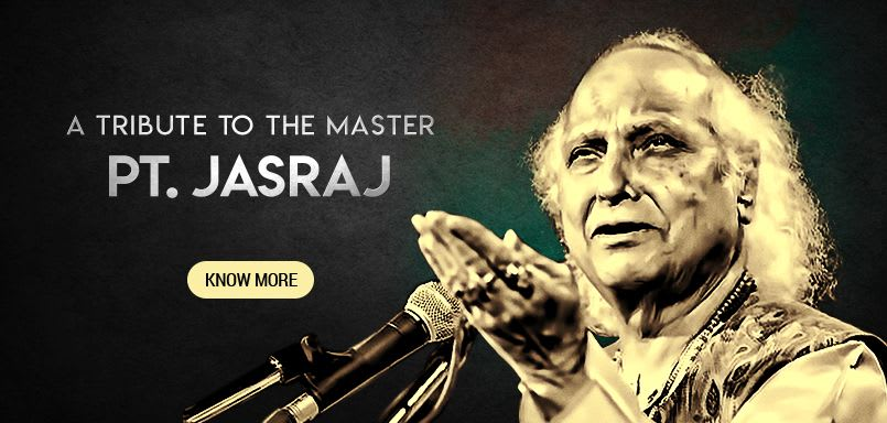 A Tribute to the Master Pt. Jasraj