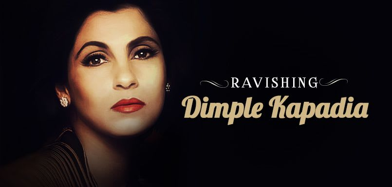 Ravishing Dimple Kapadia