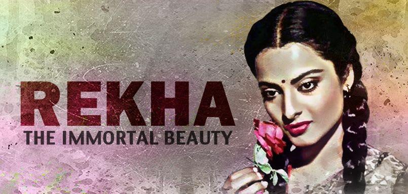 Rekha - The Immortal Beauty