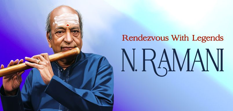 Rendezvous With Legends - N. Ramani