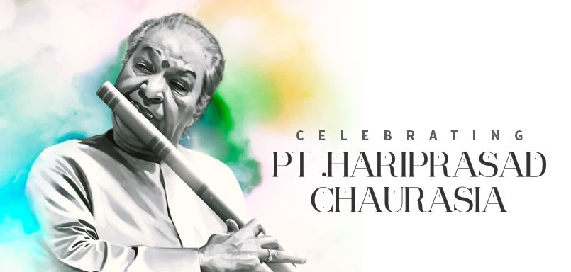 Celebrating Pt. Hariprasad Chaurasia
